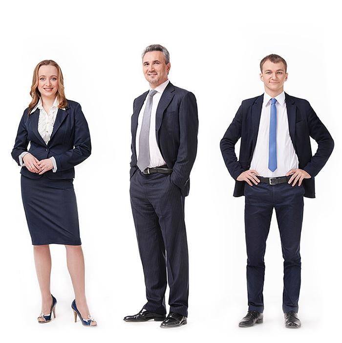 Бизнес-портрет, съемка для Зубр-капитал